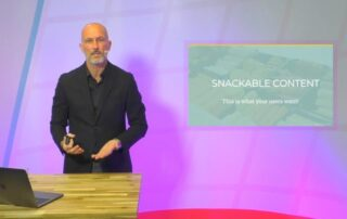 Data storytelling: 'snackable' content